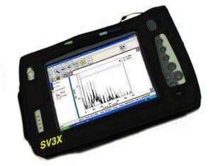 SV3X Vibration Testing Meter
