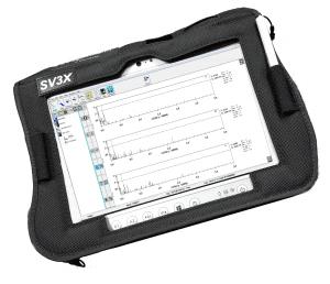 SV3X Vibration Tester, SV3X Vibration Meter