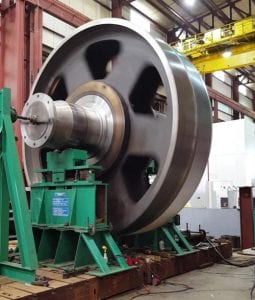 low speed vibration analysis and rotor balancing
